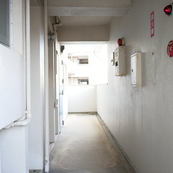 1階の共用通路