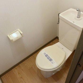 トイレにはお気に入りのカバーを付けて使いたい。