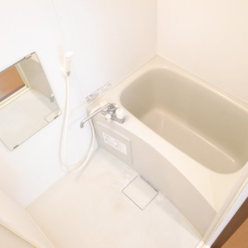 お風呂はとってもシンプルでした。