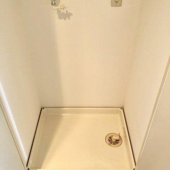 洗濯パンは扉で隠せる。おしゃれハウスには必須よね♡
