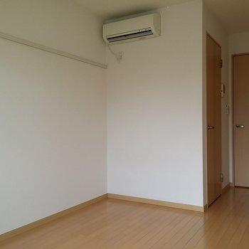 このちょっと隅がある感じが良いです。※写真は2階の同じ間取りの別部屋です。