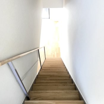 階段を登ったら・・・