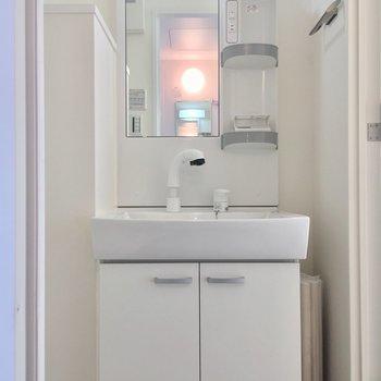 でも独立洗面台があるのは嬉しい