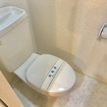 トイレはウォシュレットないですが、きれいです!