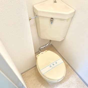 トイレカバーなどをすると良いですね