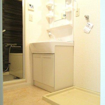 洗面台も大きくて使いやすい! ※写真は前回募集時のものです