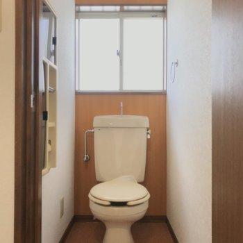 トイレにも光が溢れます!※写真は前回募集時のものです