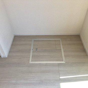 クローゼットのとなりに床下収納がありました。※写真は前回募集時のものです