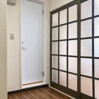 扉を開けてみると…