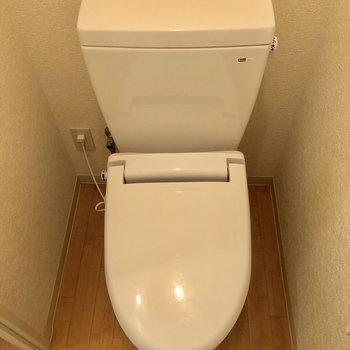 トイレは清潔感あって幸せ!