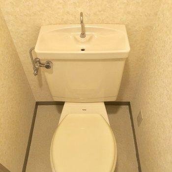トイレもシンプルに。※写真は前回募集時のものです