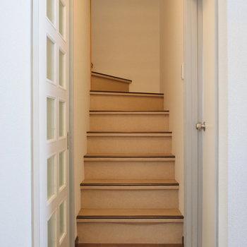 階段を登って2階へ。※写真は前回募集時のものです