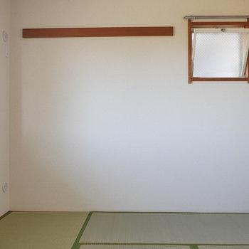 【和室】小窓も長押も、ついています。※写真は前回募集時のものです