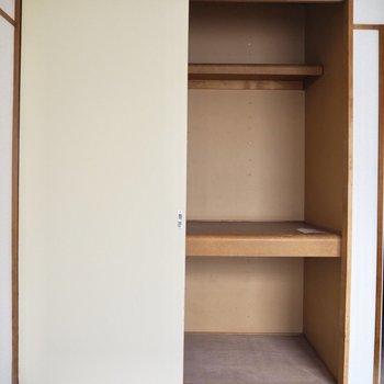 【和室】収納には洋服や布団をしまいましょう