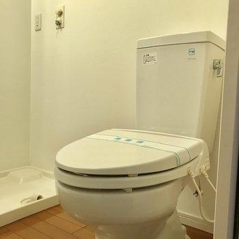開放感のあるトイレ