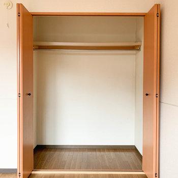 【洋室6帖】しっかりめサイズの収納