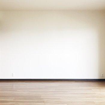 【LDK】壁側にソファーを置いてもいいですね