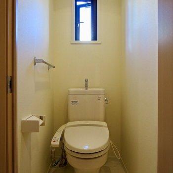 温水洗浄トイレで、使いやすい