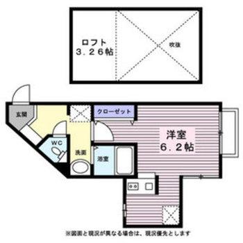角部屋・カウンターキッチン・ロフト付!