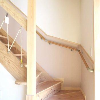 階段も素敵◎