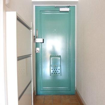 やっぱりこの玄関かわいい!※写真は別室の間取りが違う部分がございます