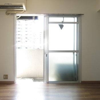 窓をあけると風通しの良さがわかります!