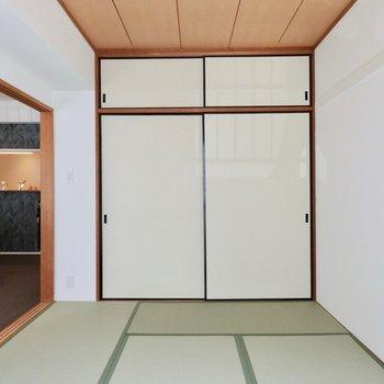 畳のお部屋もあります。※2階反転間取り別部屋のものです。