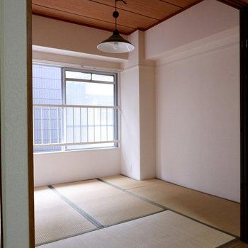 和室の広さちょうどいいです。