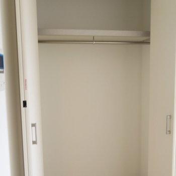 収納もきっちりと※写真は同間取り別部屋のものです。