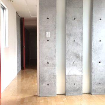 【4.5帖洋室】扉振り返り。 ※写真は2階の同じ間取りの部屋となります。
