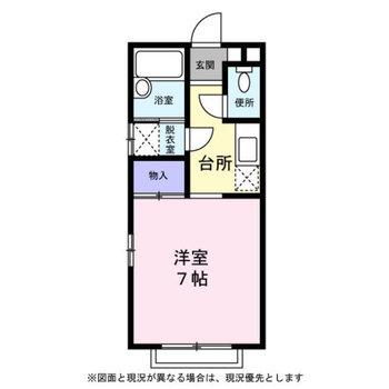 1人暮らし向けのコンパクトなお部屋。