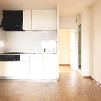 さて、キッチンをみてみましょう。
