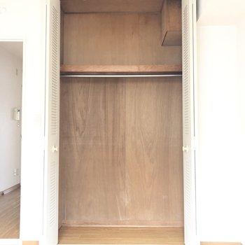 【洋室4.6帖】高さのあるクローゼット!