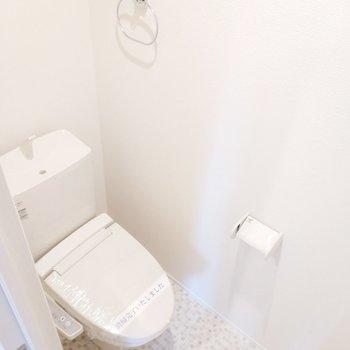 トイレは別々でとても嬉しいなぁ!