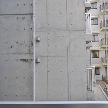 見晴しはイマイチ※写真は3階のお部屋のものです。