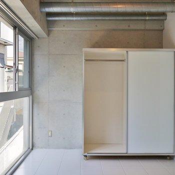 収納は可動式でレイアウトは自由自在※写真は3階のお部屋のものです。
