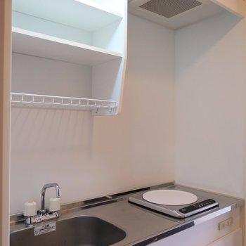 調理スペースも確保してますよ◎※写真は6階のお部屋のものです