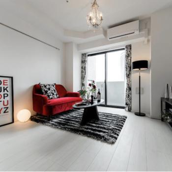 モダンな家具が似合うかな?※写真はモデルルームです。