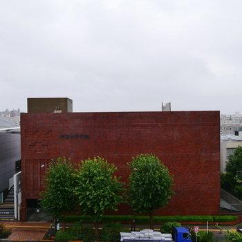 ある程度抜けてて、気持ちいい眺望。※写真は6階の別部屋からのものです。