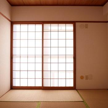 和室は6帖の広さ