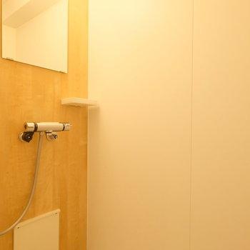 新品シャワールーム!毎日シャワー派の人は多いはず…!