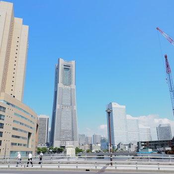 流石横浜。