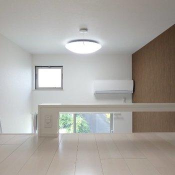 きれいなロフト空間※1階反転間取り別部屋の写真