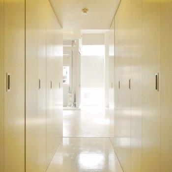 扉を全部閉めてみました。※写真は同一間取りの別部屋