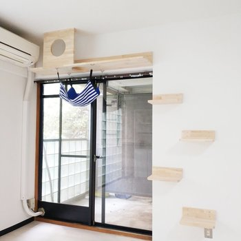 猫ちゃん用のお部屋までデザインされています!※写真は前回募集時のものです