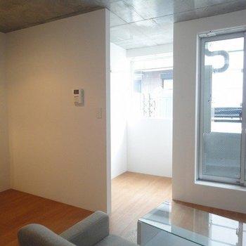 変わった間取りですね※1階別部屋同間取りの写真です。