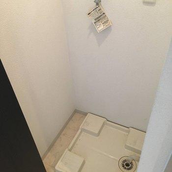 扉つき独立洗濯置き場(※写真は5階の同間取り別部屋のものです)