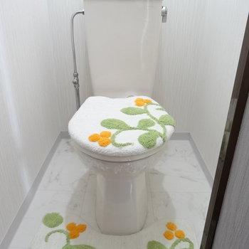 トイレも綺麗〜!(※写真はモデルルームです)