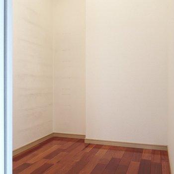 大きな納戸には何だって入れられちゃう◯※写真はクリーニング前です。