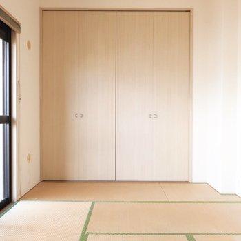 ここはお布団スタイルな寝室にピッタリ◯※写真はクリーニング前です。